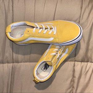 Yellow Old Skools